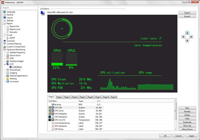 External display support | AIDA64
